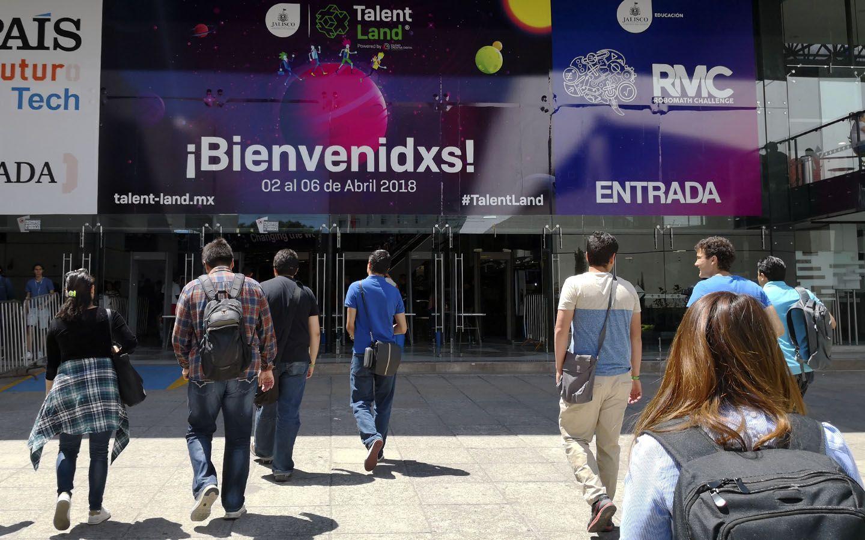 Selfish visita Talent Land 2018 Guadalajara