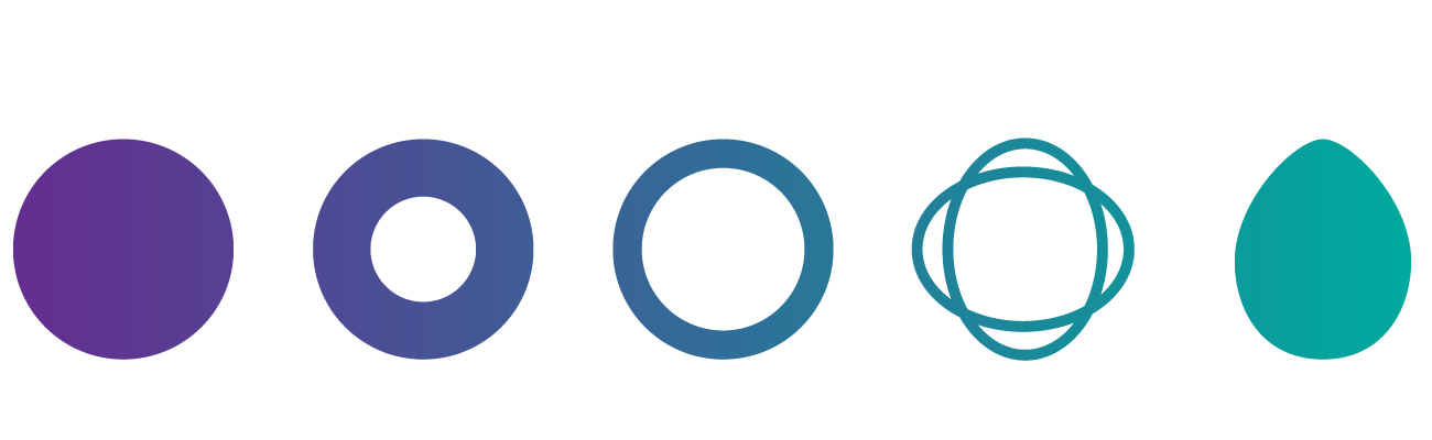 Circulos abstraccion diseño digital Selfish Blog