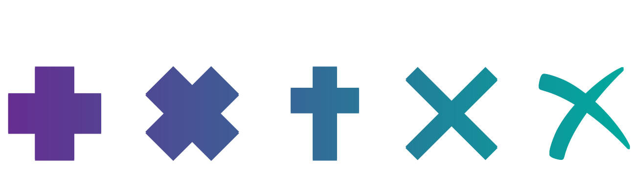 Cruces abstraccion diseño digital Selfish Blog