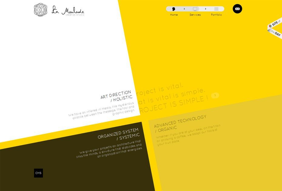 Abstraccion diseño digital Selfish Blog