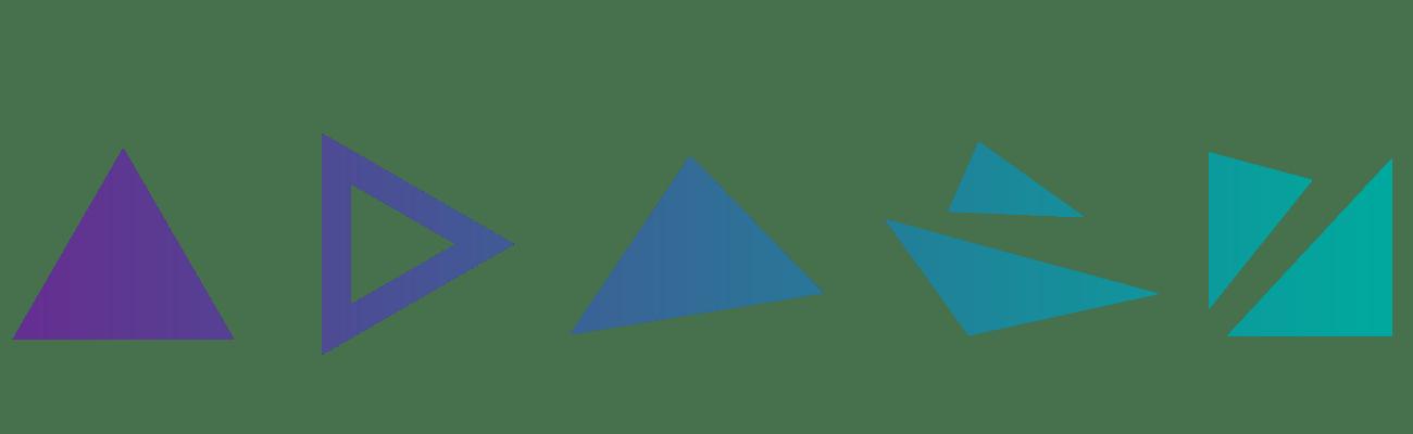 Triangulos abstraccion diseño digital Selfish Blog