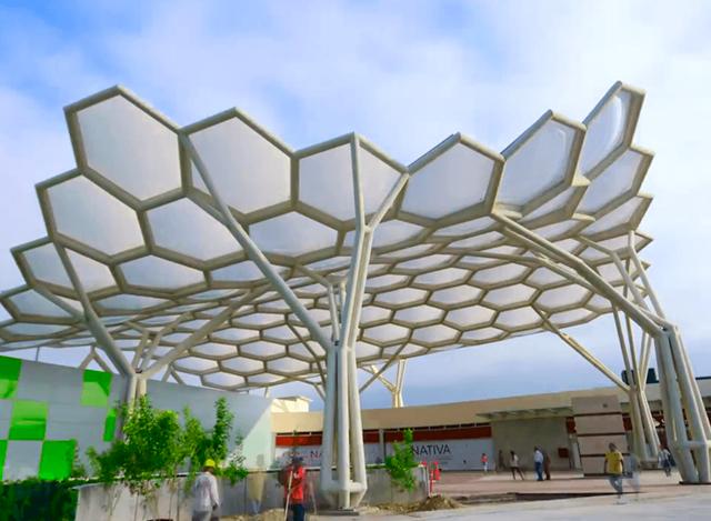 Big Span Structures