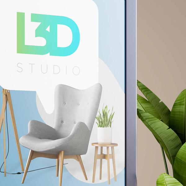 Selfish Diseño de logo L3D Studio