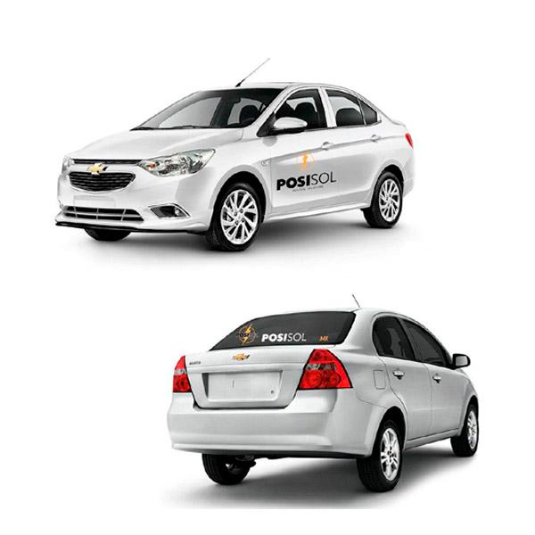 Selfish Branding articulos promocionales Rotulación de vehículos