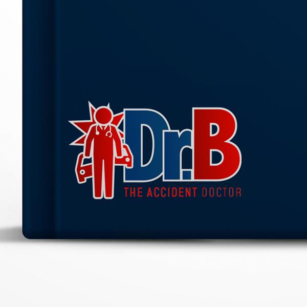 Selfish Diseño de logo Dr.B Accident Doctor