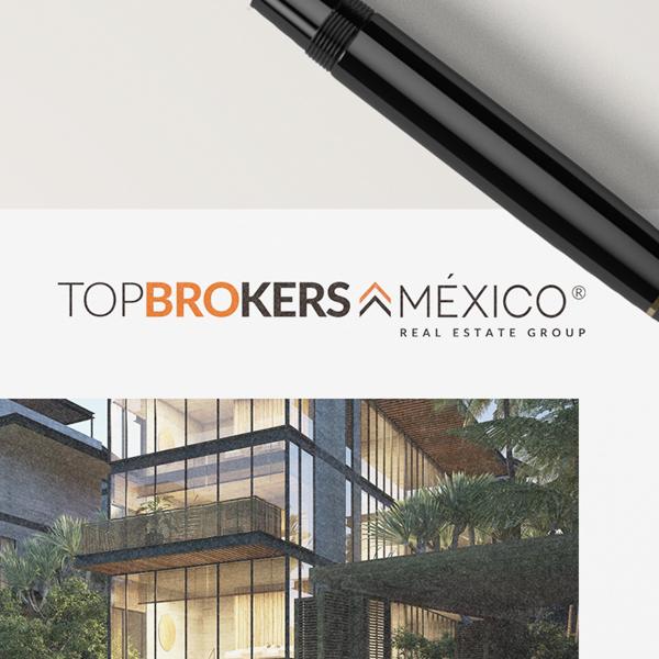 Selfish Rediseño de logo TopBrokers México